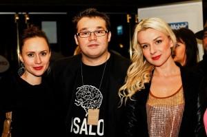 After party po premierze filmu SĘP w Londynie z piosenkarkami Polą Pospieszalską i Marzeną Rychlik