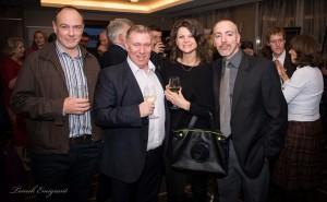 Od lewej Brian Donnelly (Herald Scotland), Stuart Ford, Kinga Plich & Paul Schaffner