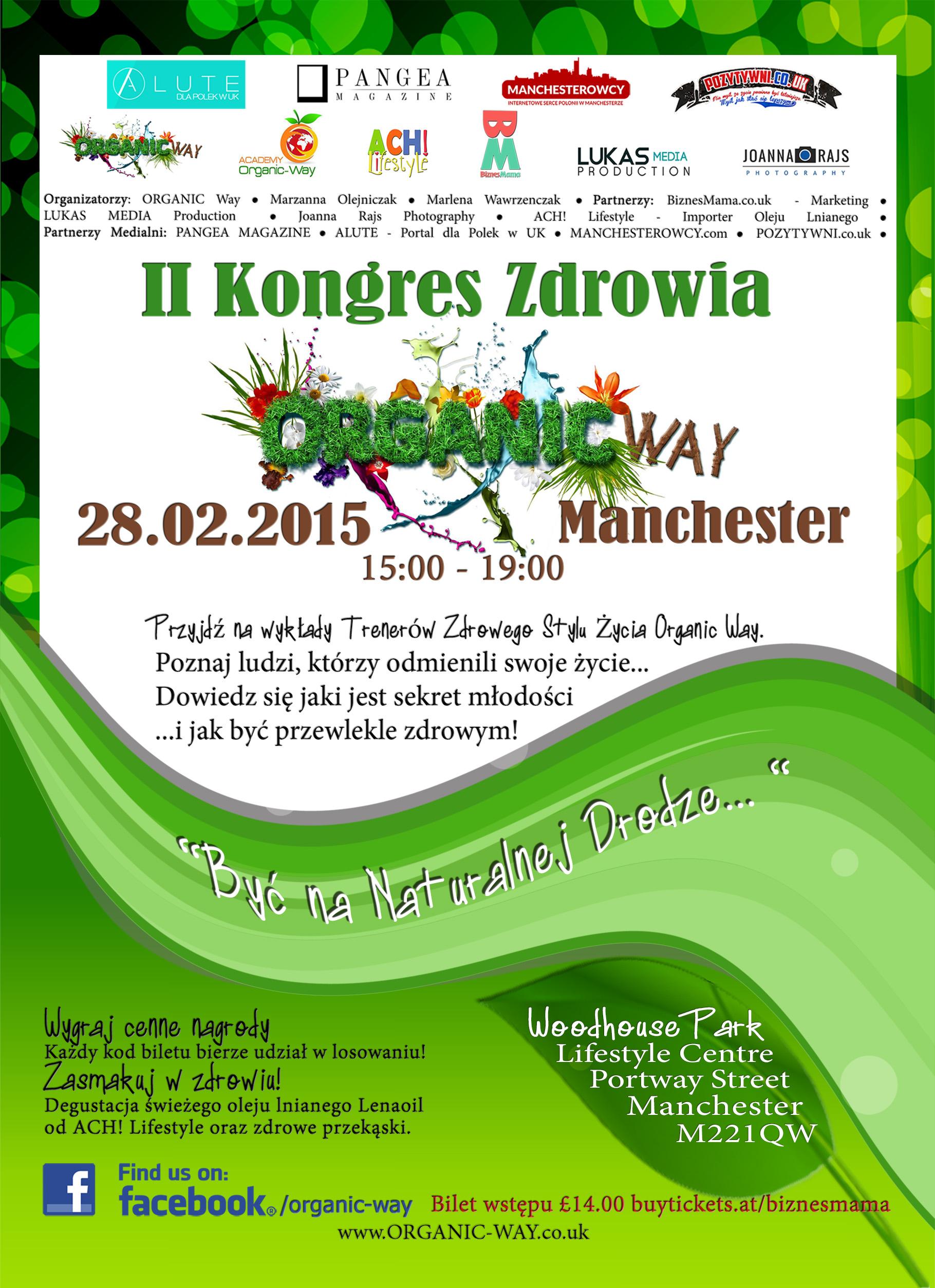 II Kongres Zdrowia Organic Way - Plakat2 (1)