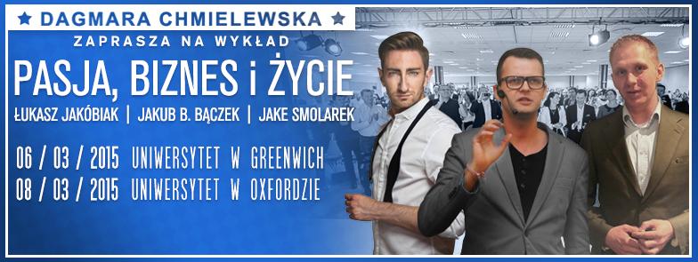 Pasja, Biznes i życze - Jake Smolarek Jakub Bączek Łukasz Jakóbiak