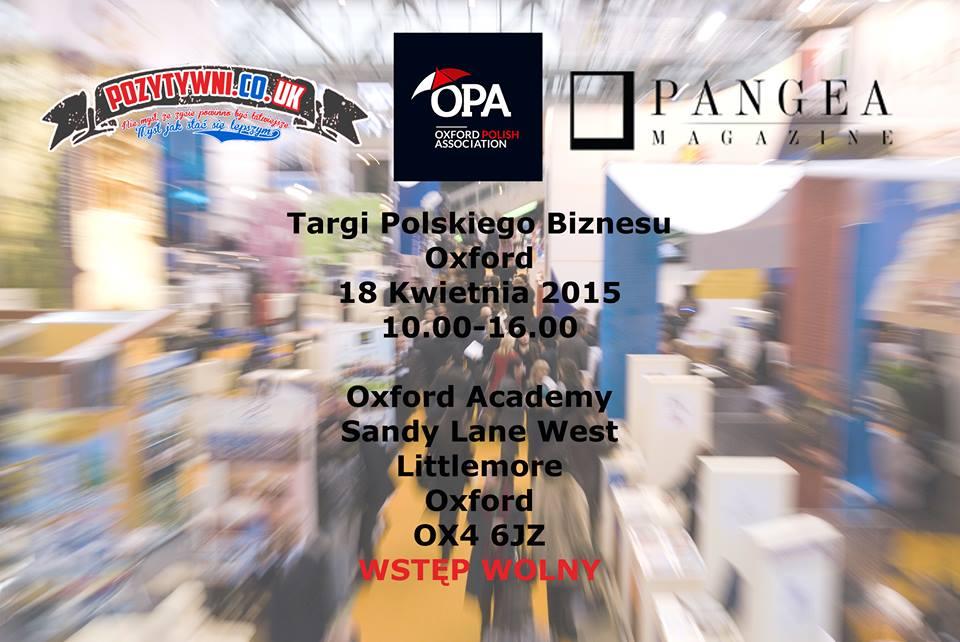 Targi Polskiego Biznesu w Oxfordzie