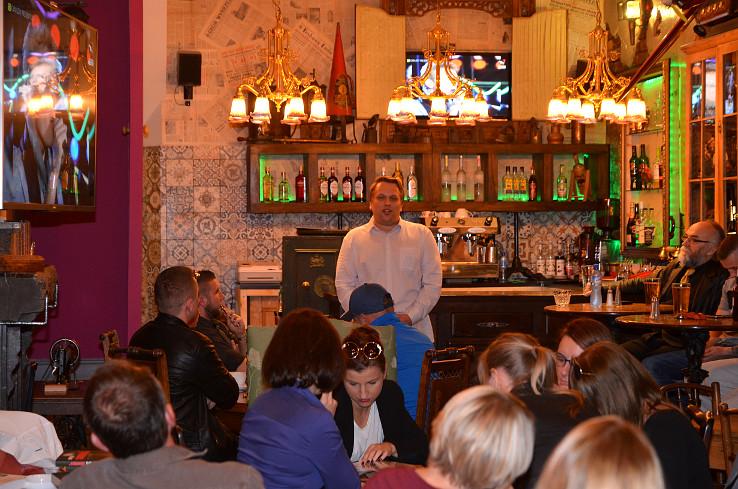 Intrygujące spotkanie, czyli wieczór autorski Leszka Szymowskiego w Newcastle upon Tyne – relacja